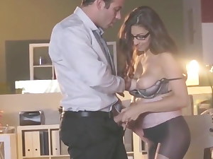 asmr office obsession chad milky and nina north a run phat ti