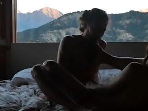 Baise matinal au chalet