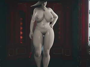 Lady Dimistrescu by General Butch (Nude Walk)