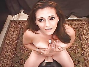 Arabian Slut Pops The brush Pussy Out of reach of Sybian!